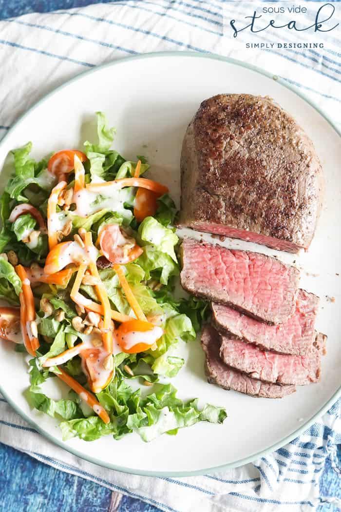 Sous Vide Steak - make the best steak with a sous vide - sous vide recipe