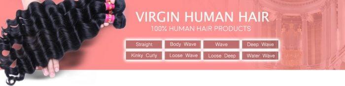 virgin human hair aliexpress