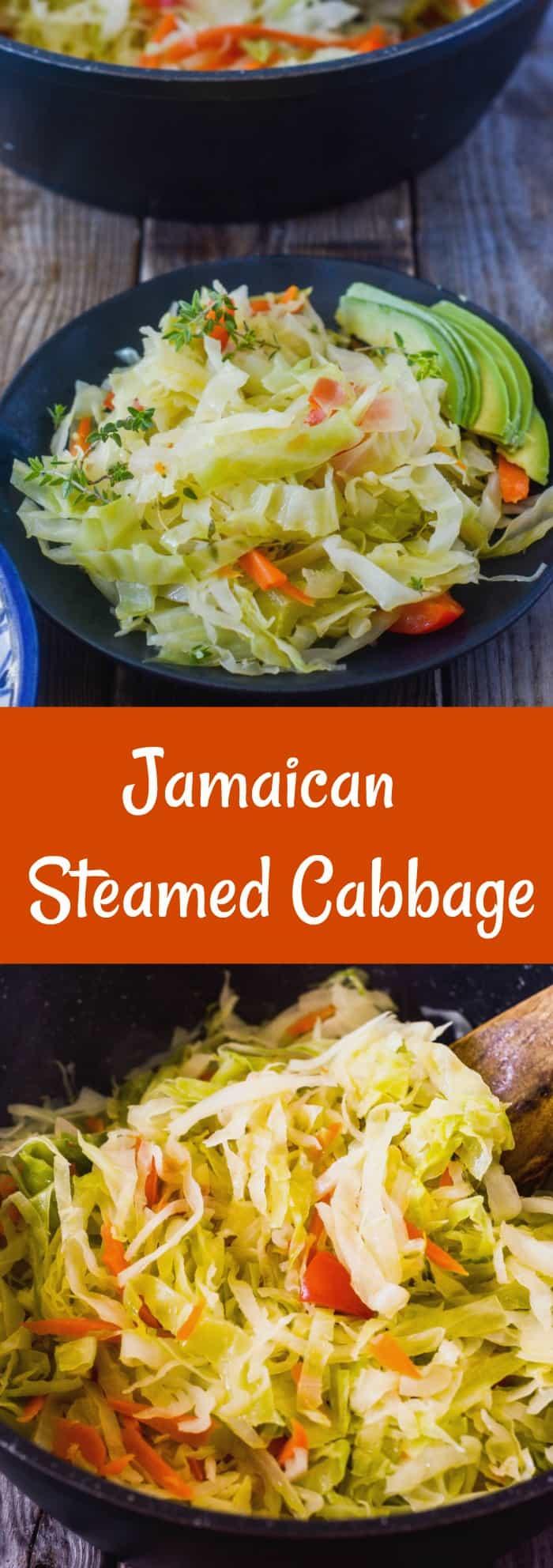 Jamaican Steamed Cabbage