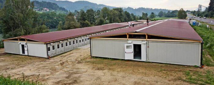 CHV Wohncontainer Anlagen Modulare-Raumsysteme- Notquartier Villach-1