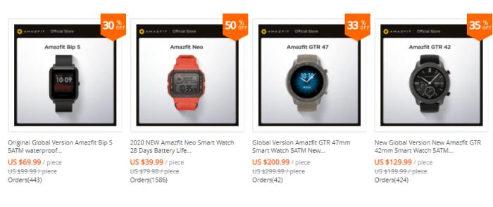 il miglior smartwatch economico su aliexpress