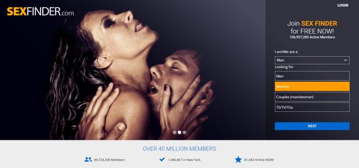 sexfinder review