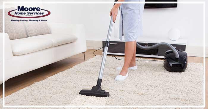 Help reduce pet dander allergies with vacuuming