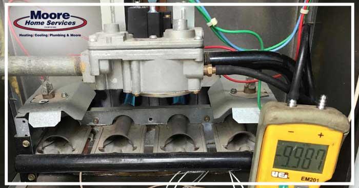 Furnace Burner Compartment