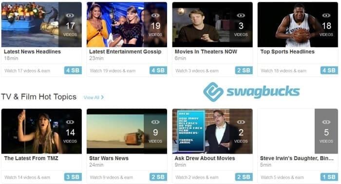 swagbucks videos