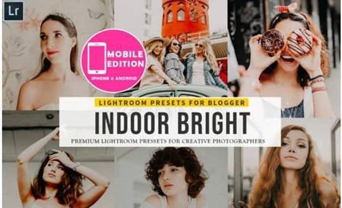 Preset Indoor Bright Lightroom Presets Mobile for lightroom