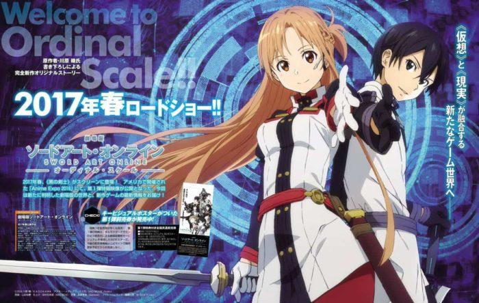 Sword Art Online Movie Ordinal Scale