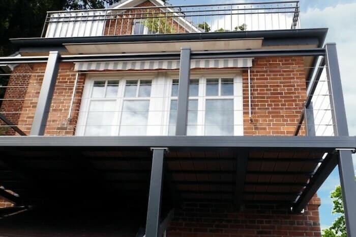 Balkone aus Aluminium nach Maß
