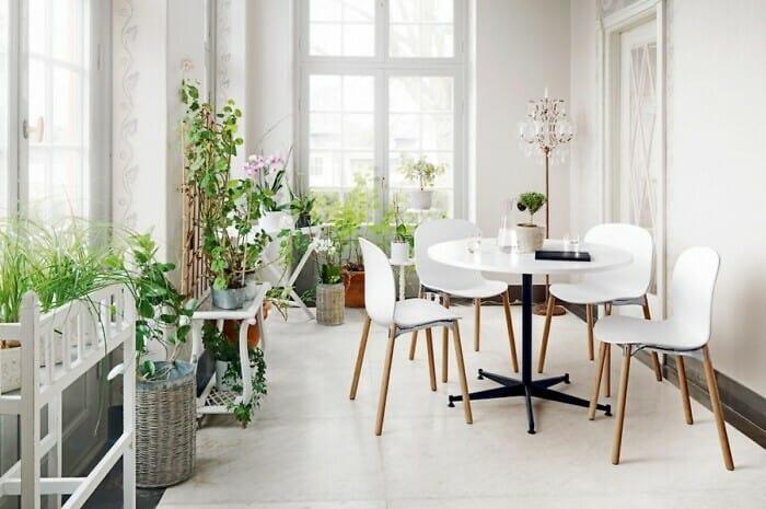 Skandinavische Stühle für die Küche