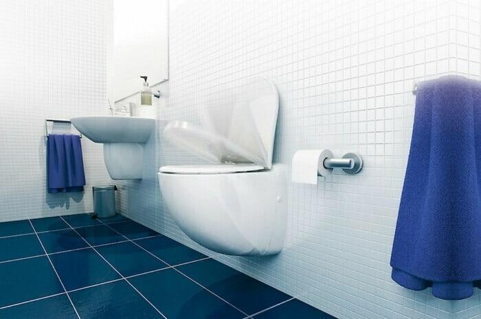 Leistungsstarke Kompakt-WCs