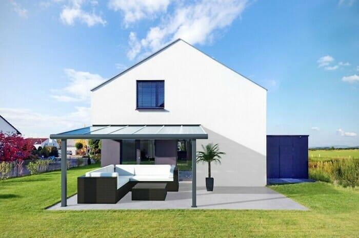 Ein Terrassendach, mehrere Funktionen