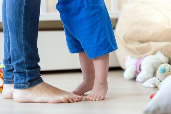 Fußbodenheizung und Fließestrich