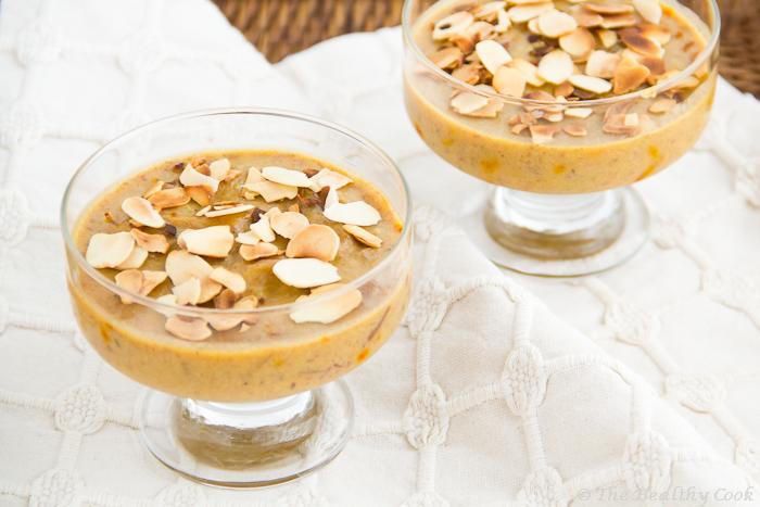 Date Pudding-Halwa – Χαλβάς-Πουτίγκα με Χουρμάδες
