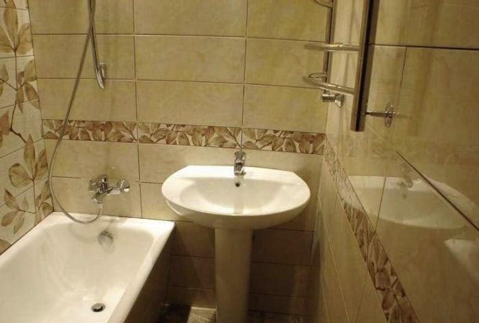 ванной комнаты в домах 504-й серии