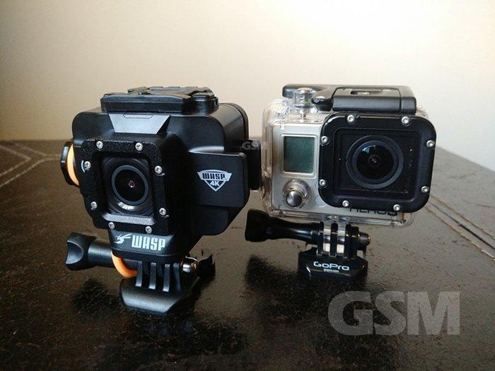 Cobra WASPcam 9907 4k Action Cam Review