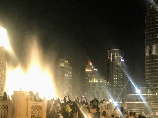 things to do in Dubai - fountains