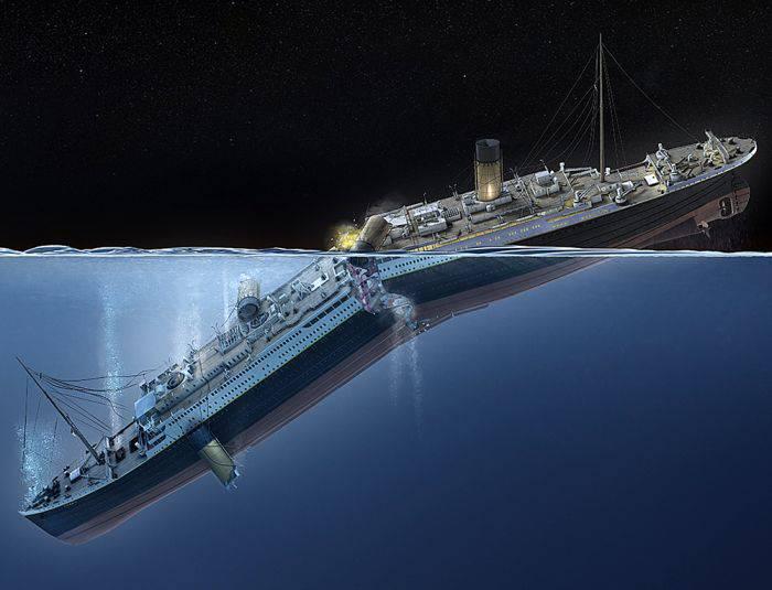 Scufundare Titanic
