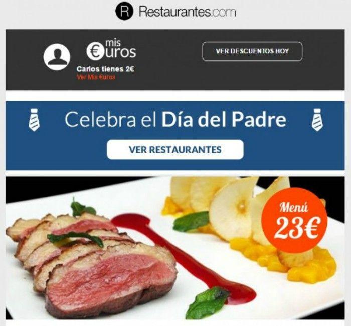 Newsletter restaurantes.com