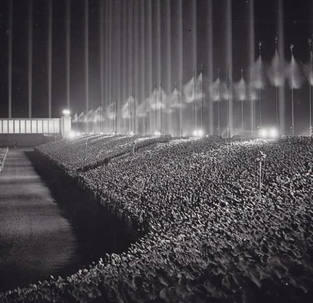 Imagini rare - Manifestatie nazista