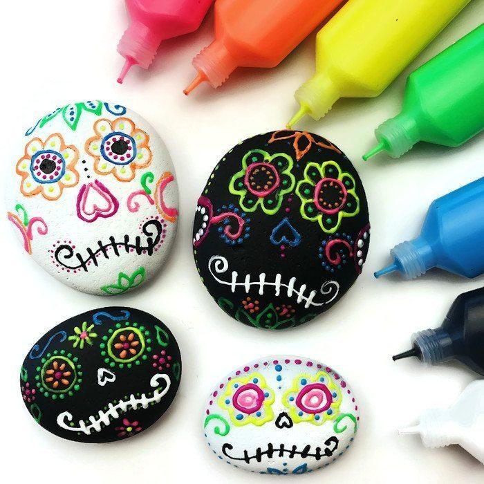 Sugar Skull Stones
