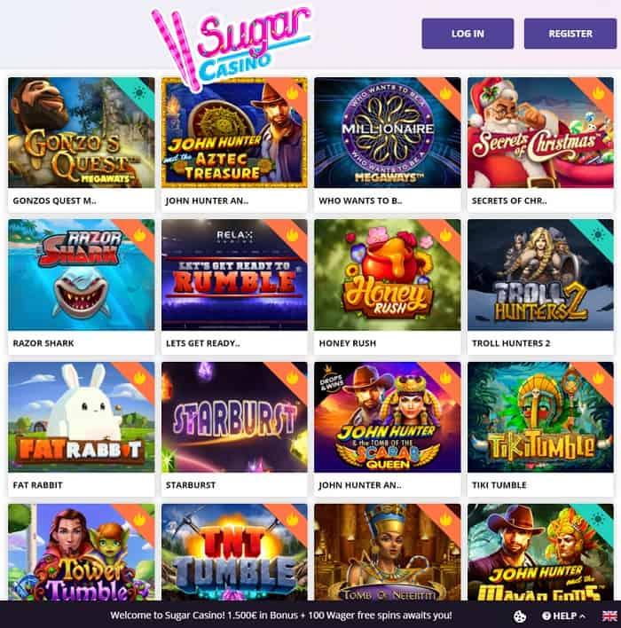 Sugar Gaming Free Bonus
