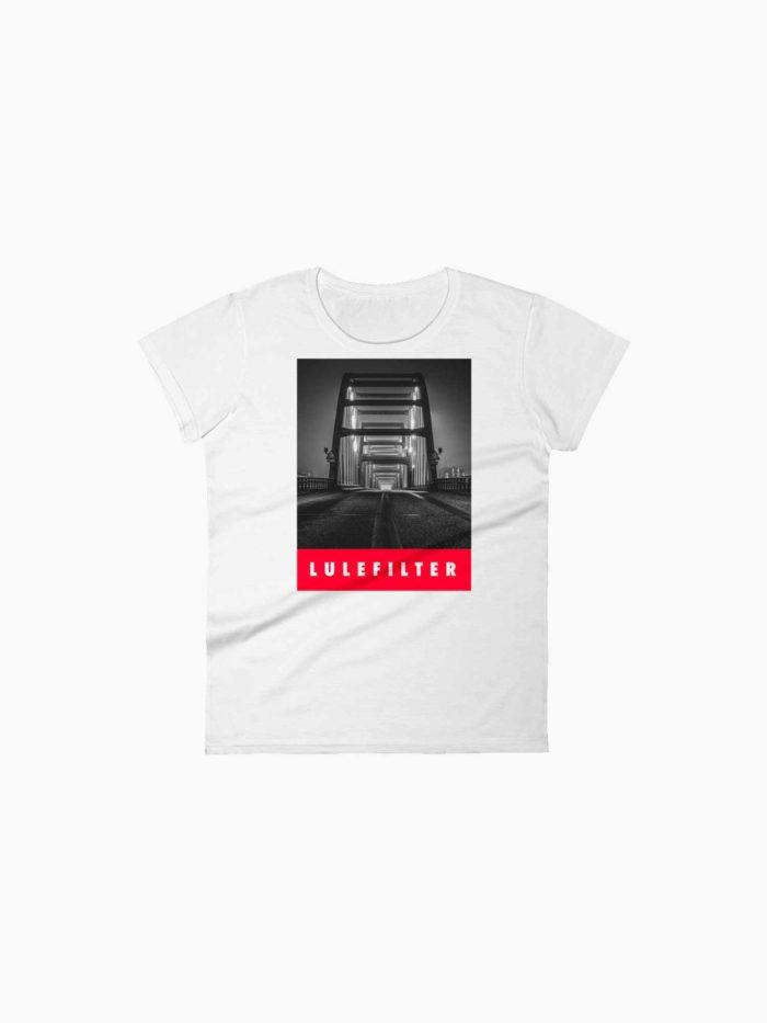 Lulefilter - t-shirt - dam - Luleå Burban Studios
