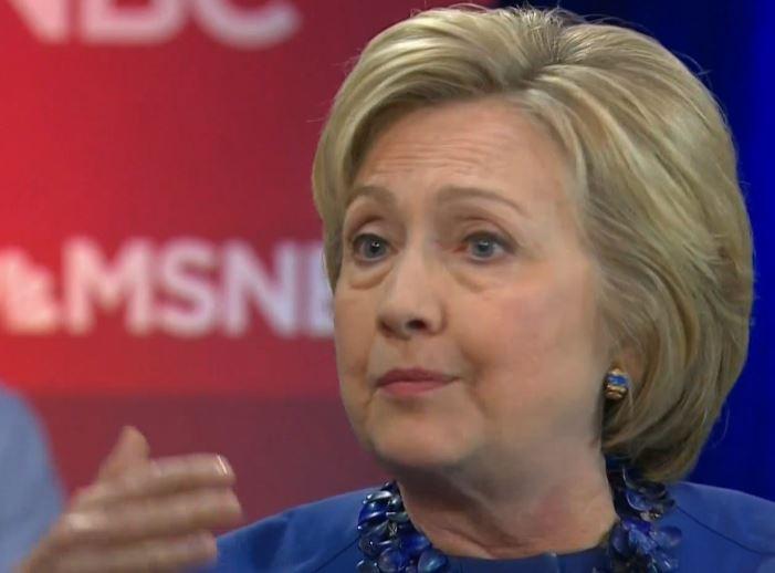 Hillary Clinton Trump MSNBC town hall