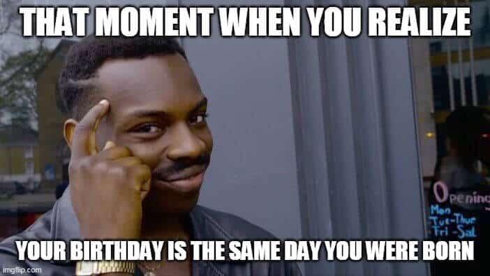 realize bday meme