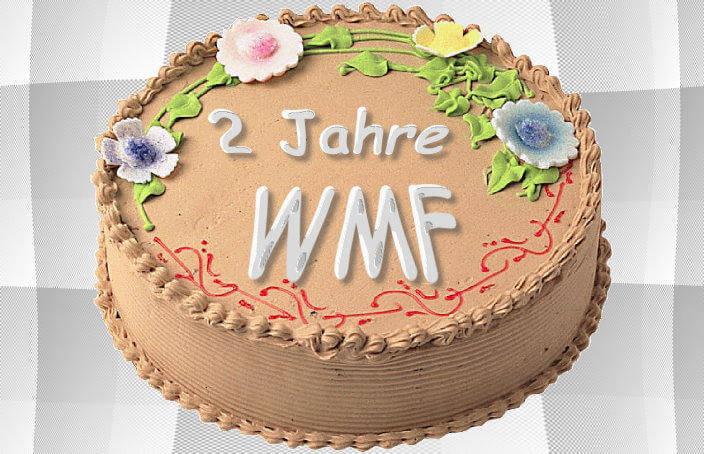 Geburtstagstorte für Webmasterfriday