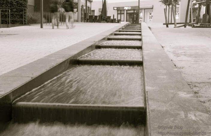 Hademare Bachlauf in der Fußgängerzone Hemer