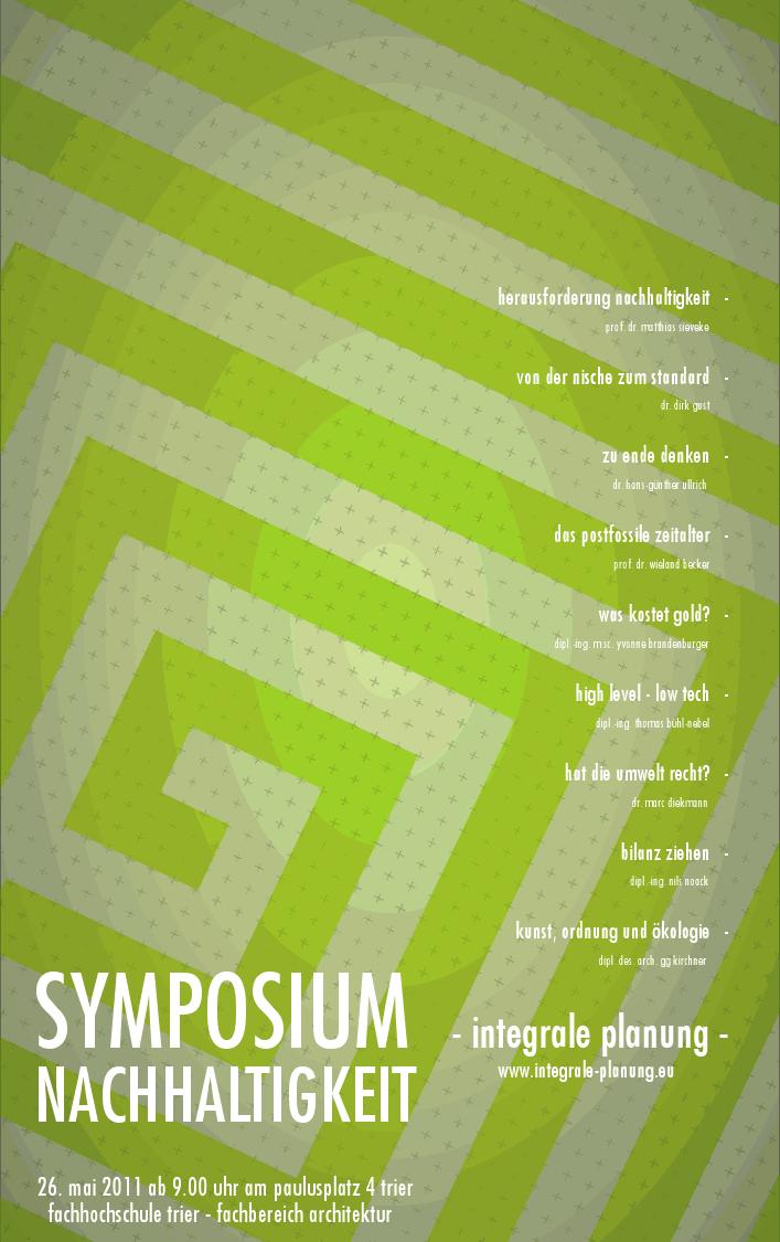 Symposium Nachhaltigkeit
