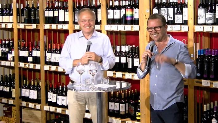 """""""Sprechstunde im Weinladen"""" – Prof. Stephan Martin & Guido Zech"""