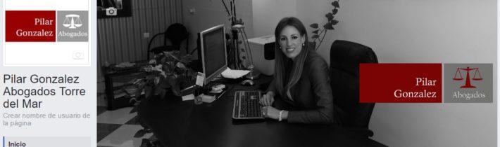 cuenta de Facebook empresarial Pilar Gonzalez Abogados