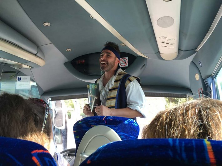 Pirates Adventure Bus