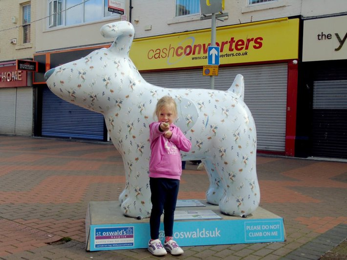 Great North Snowdogs - Winter Lily