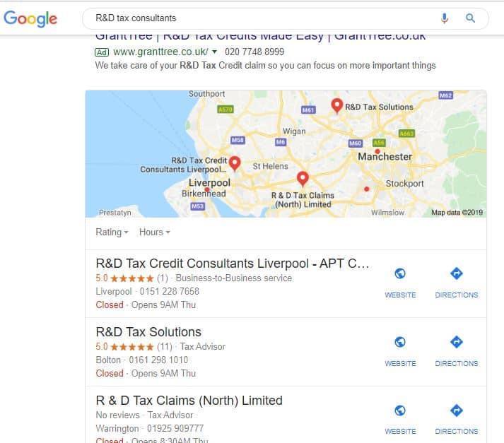 Local SEO Liverpool - Case Study