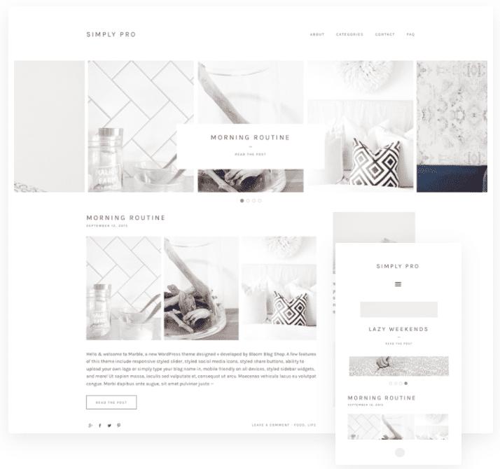 bloom blog shop