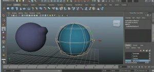 Nurbs кривые в Autodesk maya