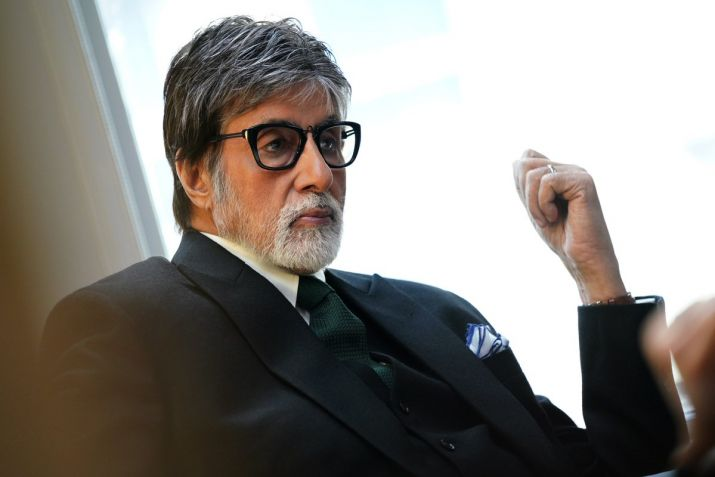 Amitabh Bachchan shares Pics from Badla sets in Glasgow