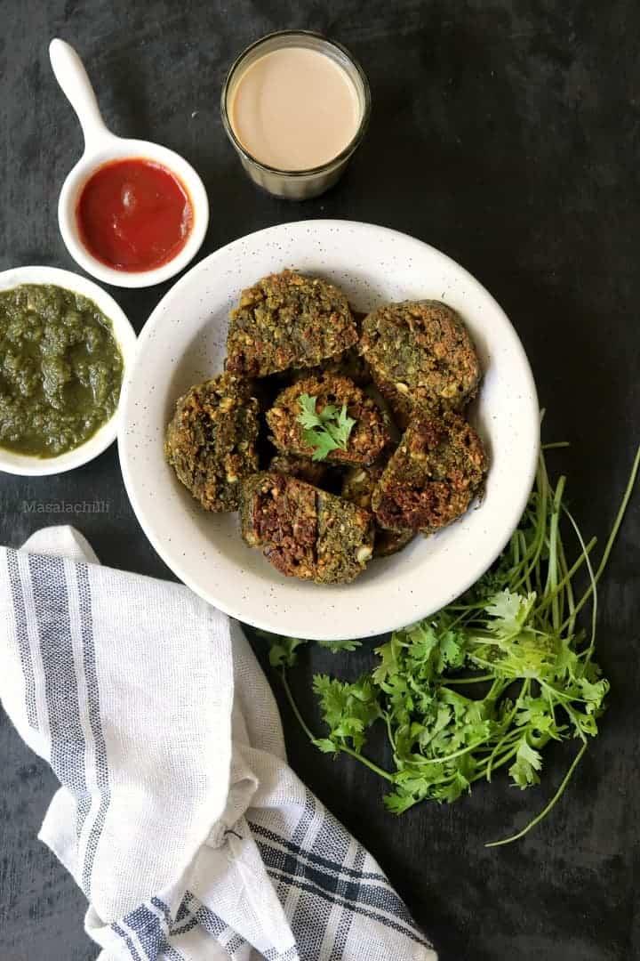 Kothimbir Vadi – Easy Maharashtrian Snack with Coriander Leaves