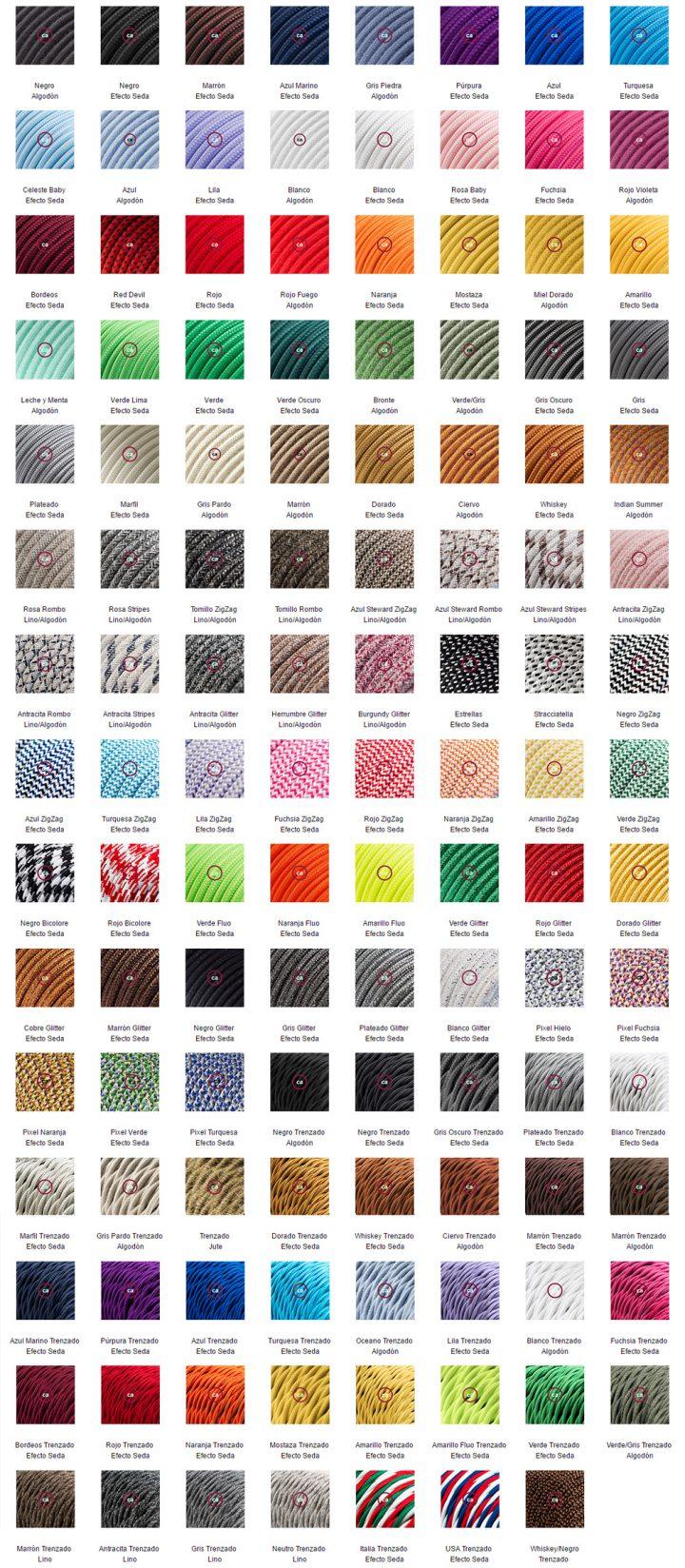 tiendas diseño iluminación productos diseño materiales iluminación diy deco cables lamparas diseño italiano diseño cables Creative Cables cables textiles cables estampados artículos iluminación accesorios hogar