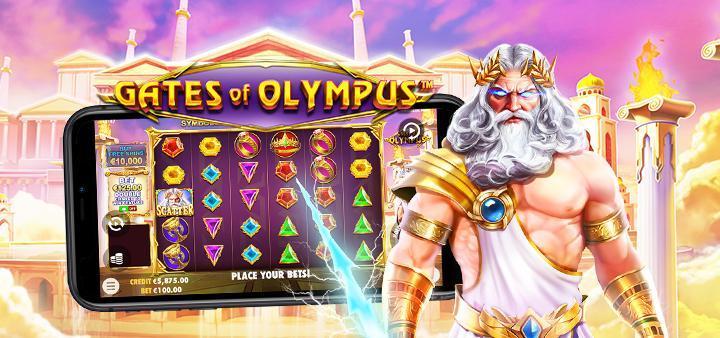 Gates of Olympus - Pragmatic Play spillemaskine