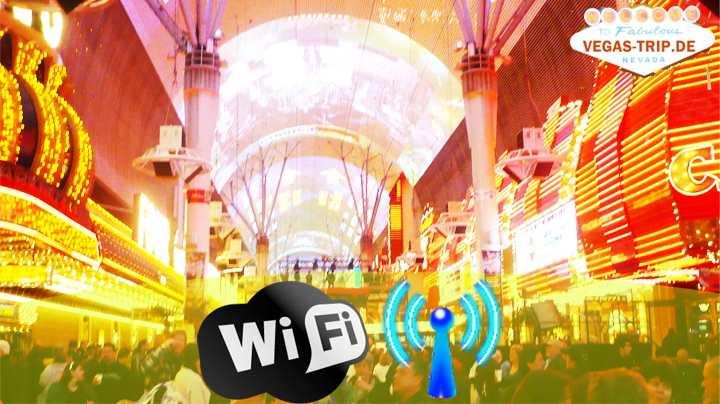 Las Vegas Downtown Free WIfi