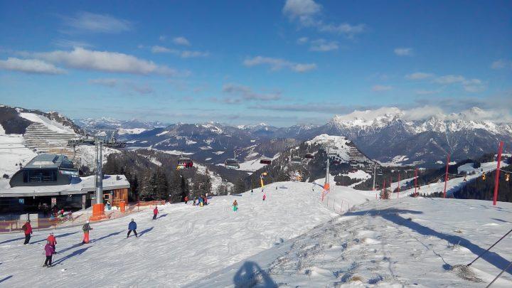 Eindruck vom Skigebiet Saalbach Hinterglemm