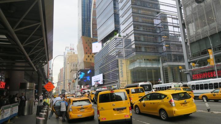 Gelbe Taxen in New York