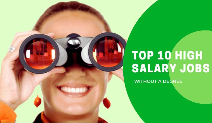 high salary jobs