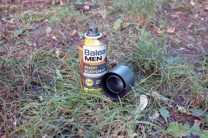 Balea MEN Bodyspray Deodorant ready!