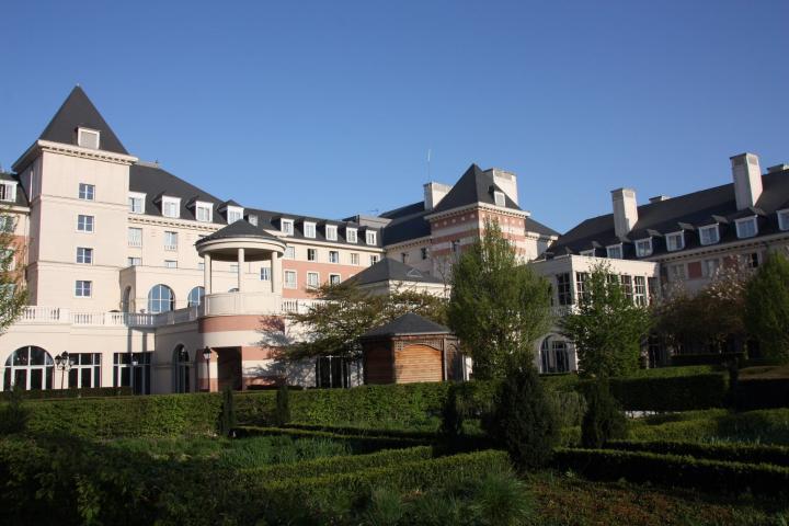 Das Dream Castle Hotel vor den Toren von Disneyland Paris
