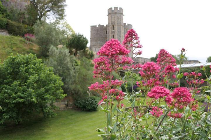Der Garten von Windsor Castle