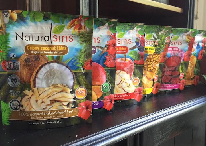 Baylouga et les délicieuses chips Natural Sins